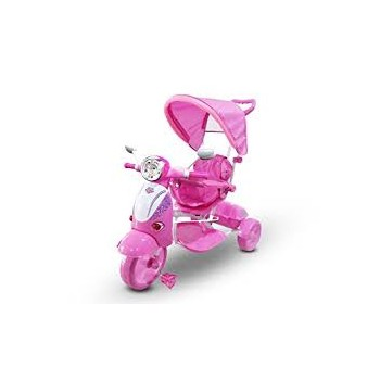 LT-854 TRICICLO SPECIAL MP3 ROSA