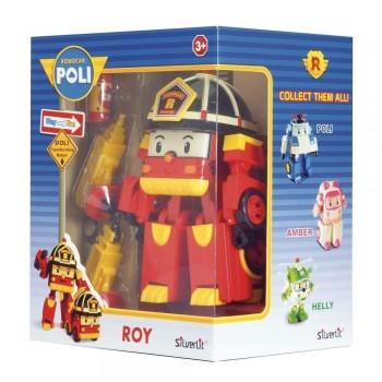 POLI ROBOT TRASFORMABILE CON LUCI ROY