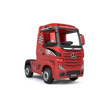 CAMION ACTROS MERCEDES ROSSO